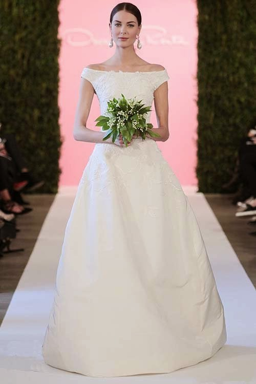 2015 Spring Wedding dress collection by Oscar de la Renta