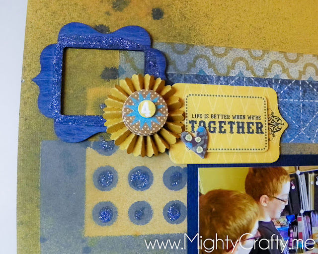 June 2012 Sketch Layout with Boys Rule kit - MightyCrafty.me