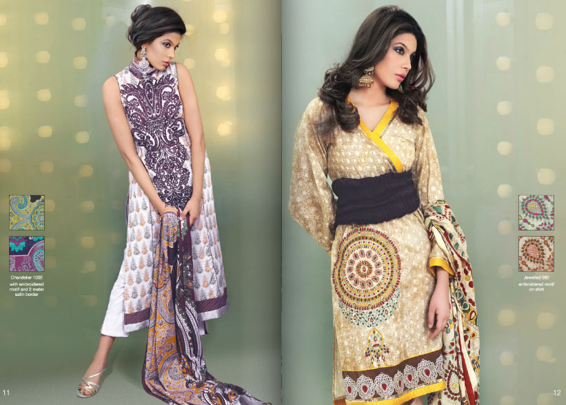 Al KaramLawncollection2012wwwShe9blogspotcom2528162529 - Al-Karam Lawn Collection 2013