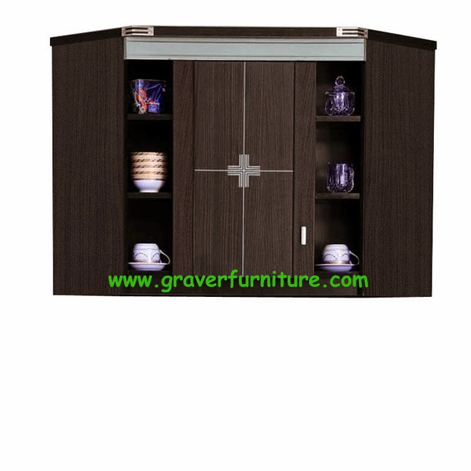 Kitchen Set Atas Sudut KSA 2854 Graver Furniture