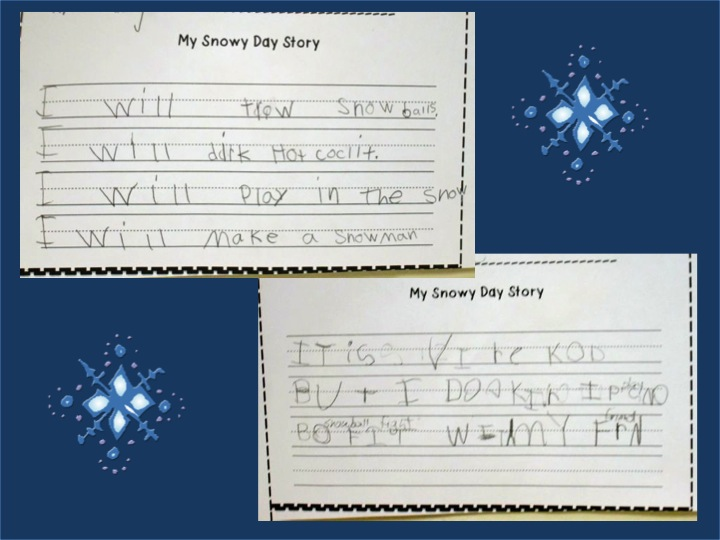 Displaying (19) Gallery Images For Snow Writing Paper...