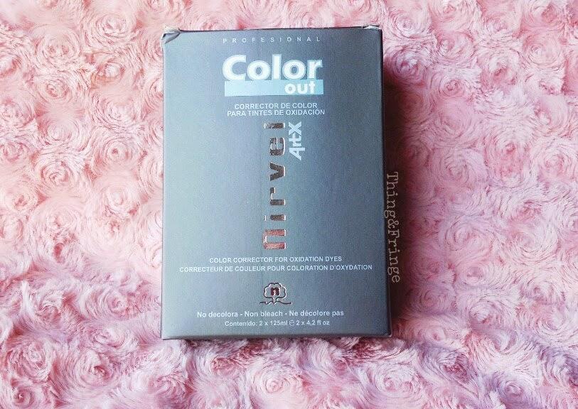 retirer sa coloration avec color out de nirvel - Color Out Nirvel