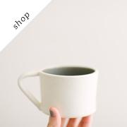 Alabaster White Mug | ssamnichols