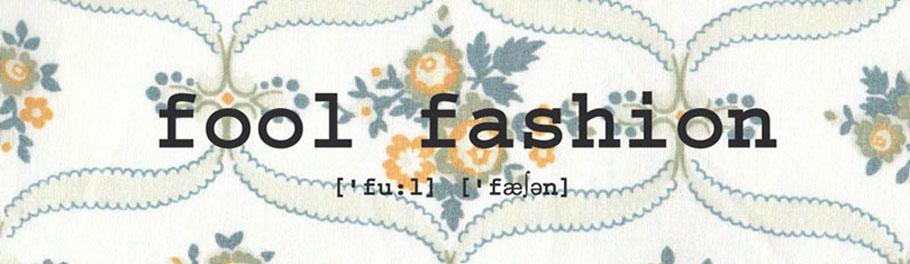fool fashion - plastikfrei leben