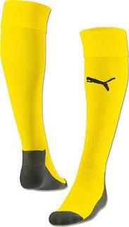 gambar desain jersey terbaru musim depan grade ori Kaos kaki Borrusia Dortmund home terbaru liga eropa musim 2015/2016    kaos kaki bola enkosa sport
