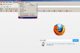 setting proxy firefox