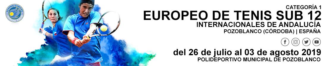 Club Tenis Pozoblanco | Europeo de Tenis Sub 12 - Internacionales de Andalucía - Pozoblanco