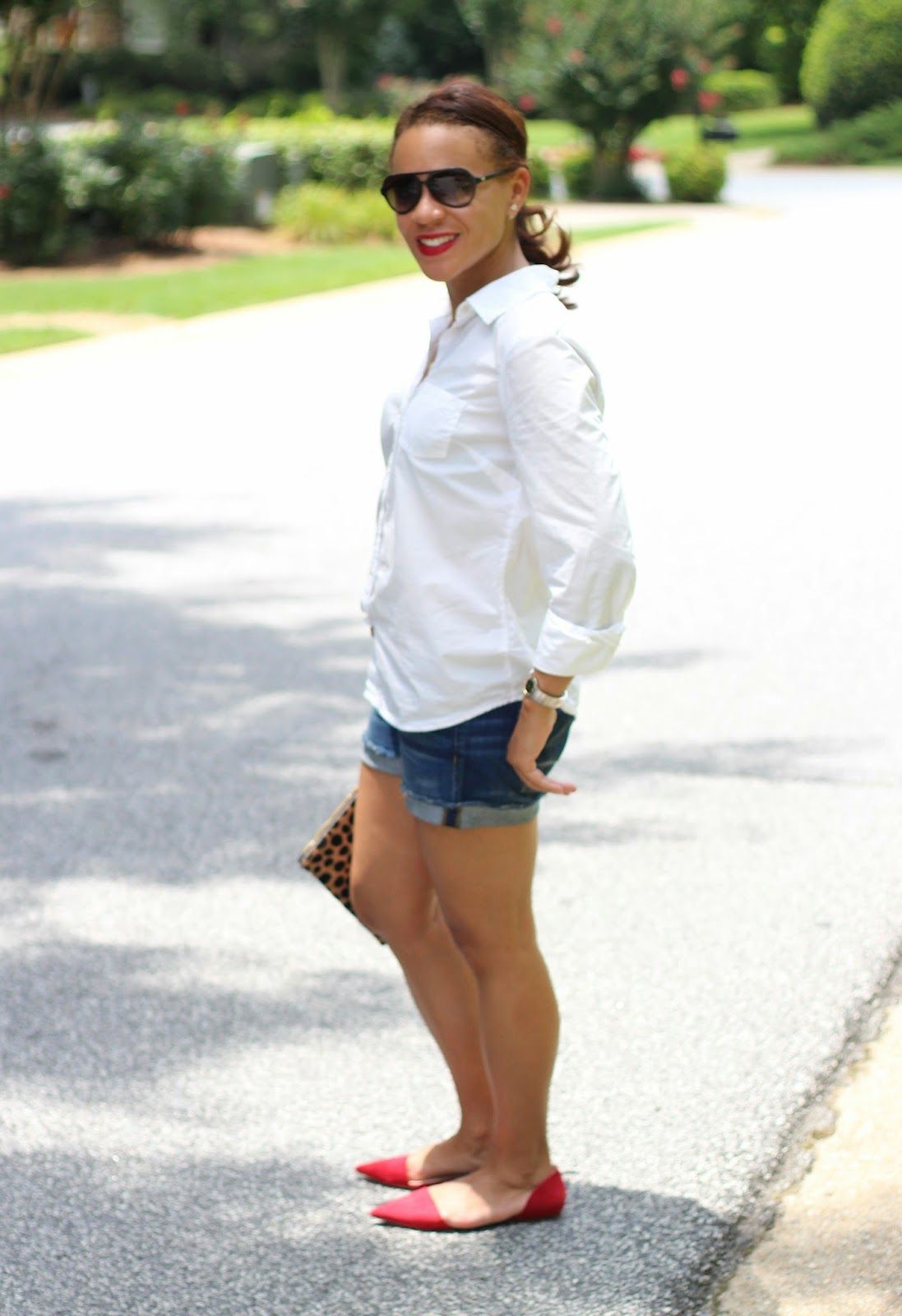 J-Crew-denim-shorts