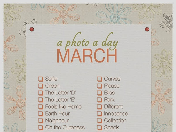 March! So glad to see you!