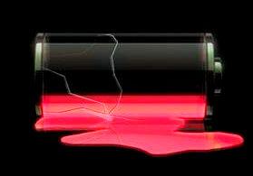 iphone バッテリー消費が早いと思ったらまず試すこと.
