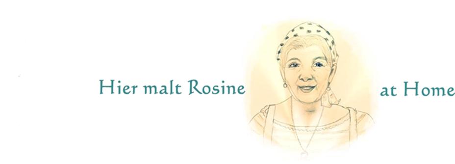 Hier malt die Rosine - Rosinenmalerei
