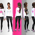 New Adidas Jacket || Sport-wear || Female Sport || Hoodie || The Sims 4