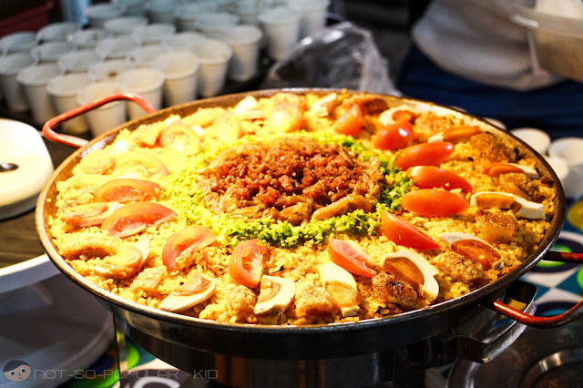 Spanish with Filipino Twist - Bagnet Paella by Flavor Ave.