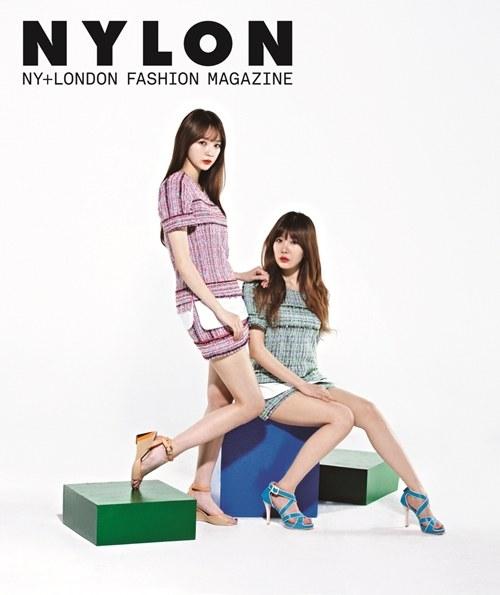 Davichi Majalah Nylon 01