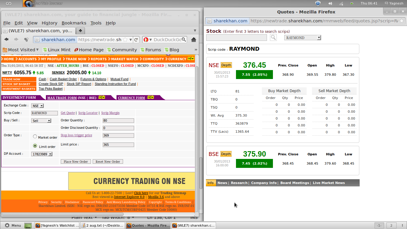Option trading in sharekhan