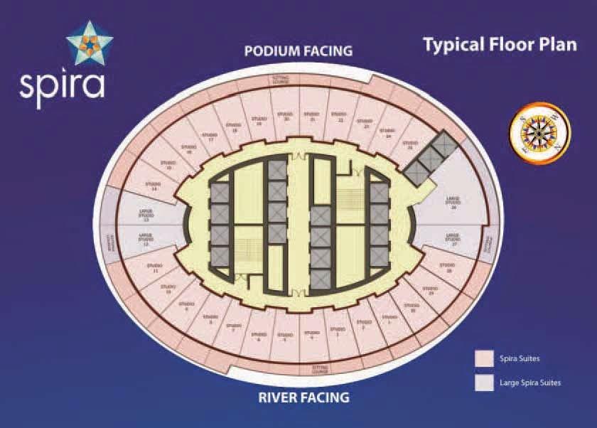 Spira floor plan