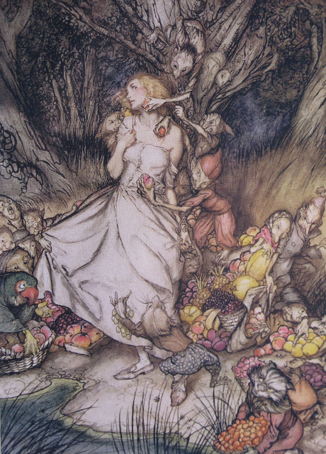 similarities between goblin market and the Goblin market twice winter: my secret 5 introduction activities resources this exercise will introduce students to the range of literary terminology relevant to the.