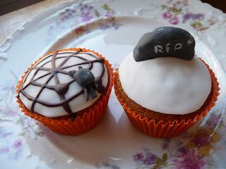 Cupcakes para Halloween de Doña Inés