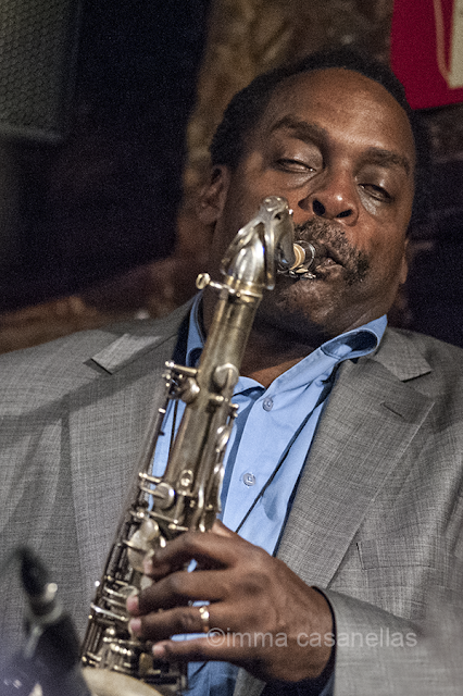 David Murray, Jamboree Jazz Club, Barcelona 20-10-2015