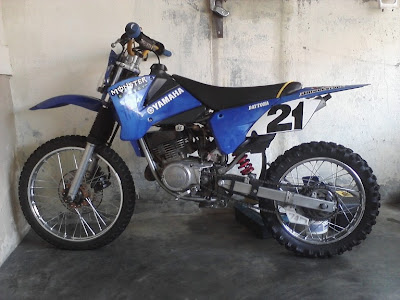 yamaha rx king modif trail