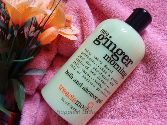 Treaclemoon ginger shower gel
