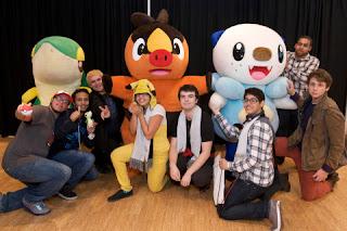 pokemon black white nws launch event photo 1 Pokemon Black Version 2 And White Version 2 Nintendo World Store Launch Event Photos