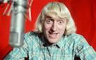 Jimmy Savile on the air at Top of the Pops