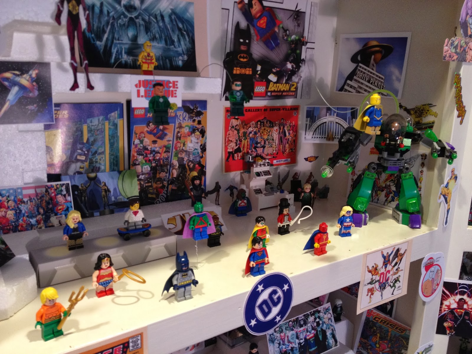 Observed Impulse Marvel And Dc Lego Minifigure Collection