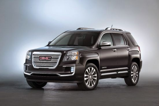 2016 GMC Terrain and Terrain Denali Introduced at New York International Auto Show