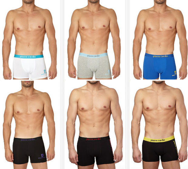 Venta multimarca de homewear camiseta boxers for Pierre cardin ropa interior