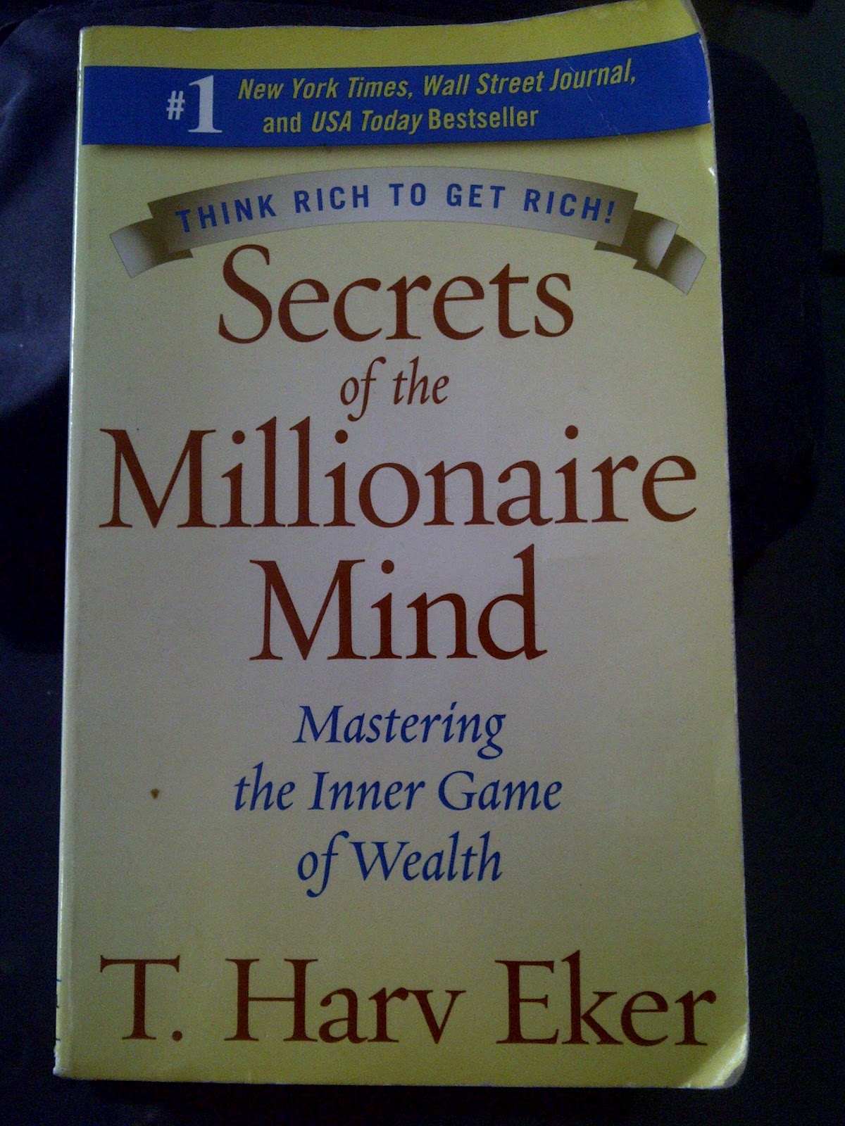 secrets of the millionaire mind eker t harv