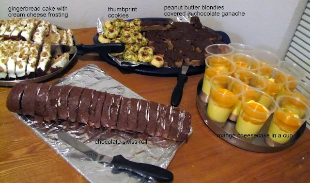 Dessert party table