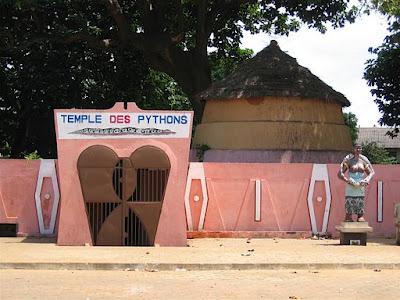Temple de pythons