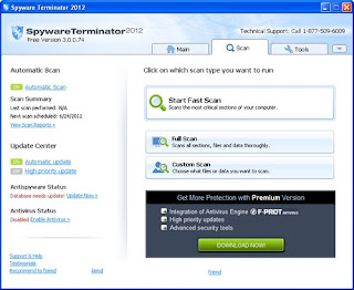Download Spyware Terminator 2012 3.0.0.74 Free Version