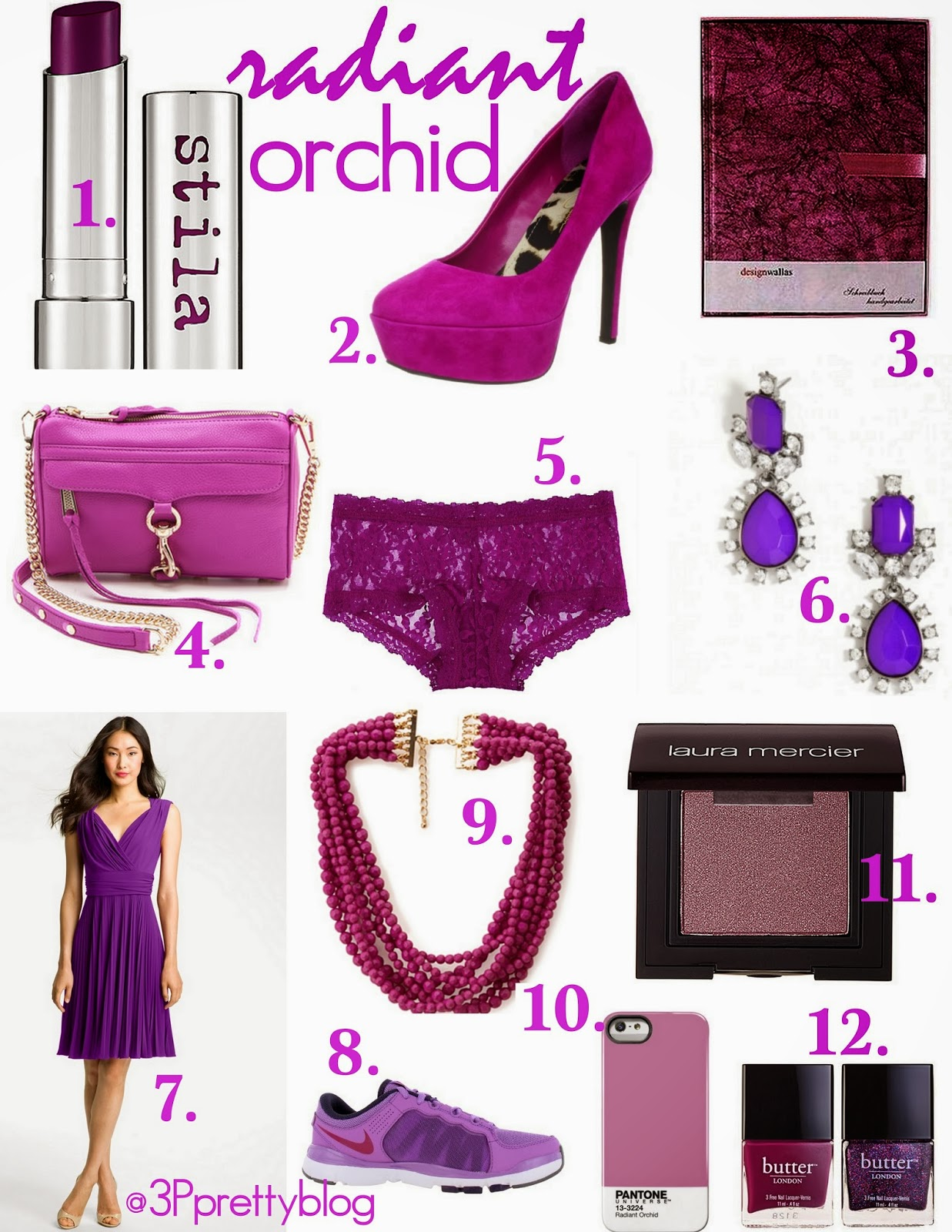 Pantone Color Of The Year 2014 Radiant Orchid Has named radiant orchid