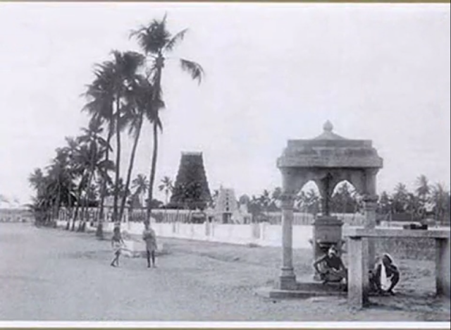 Mylapore Temple old photo