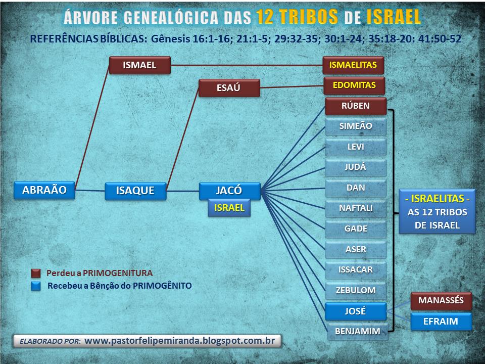 [Imagem: 10-%C3%81RVORE%2BGENEAL%C3%93GICA%2BDAS%...ISRAEL.png]