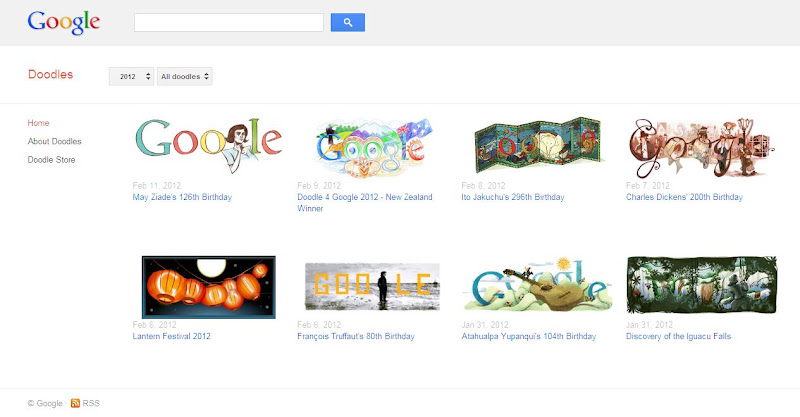 Google Doodles Screenshot