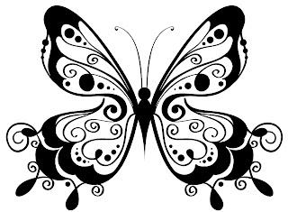 mariposa para color