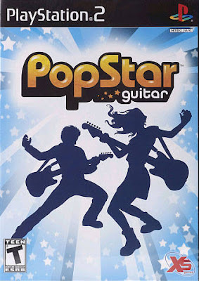 PopStar Guitar PS2