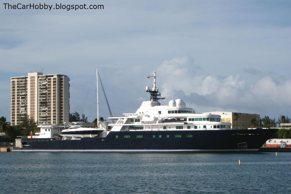 Spotted Mega Yacht Le Grand Bleu The Car Hobby