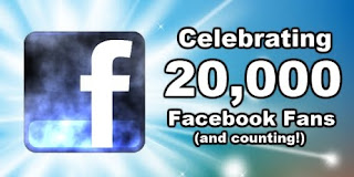 20,000 Facebook Fans