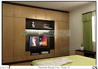 Lemari Baju Minimalis Unit Woody Alliafurniture
