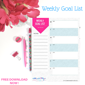 Download  Student Goal Planner