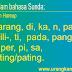 Belajar sunda: Mengenal awalan dalam bahasa sunda
