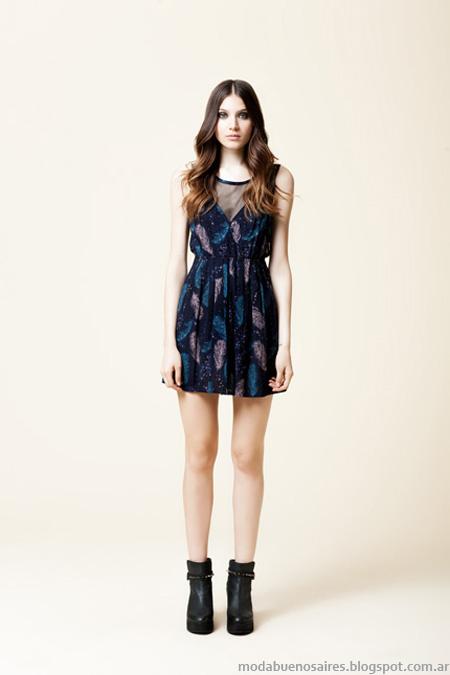 Wanama vestidos invierno 2013