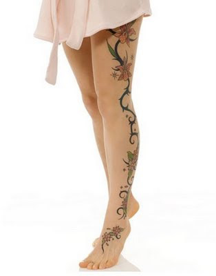 Tattoo Kaki untuk Wanita