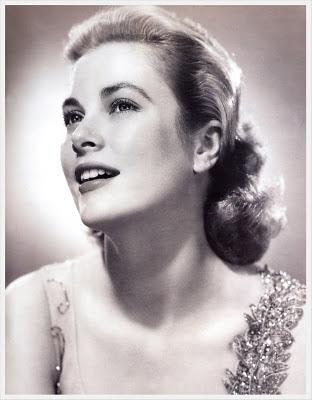 foto de Grace Kelly en blanco y negro
