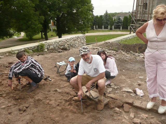 Archaeologival Excavation in Skalat Castle, Ukraine