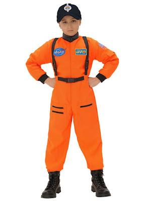 Astronaut kostume dreng